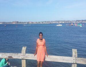 Liz Kimani at Brown University