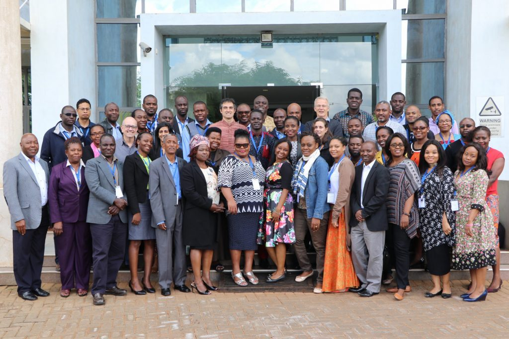 Participants at the Countdown 2030 workshop
